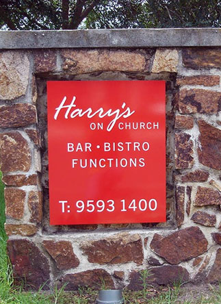 Harry's On Chruch