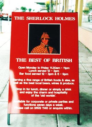 THE SHERLOCK HOLMES